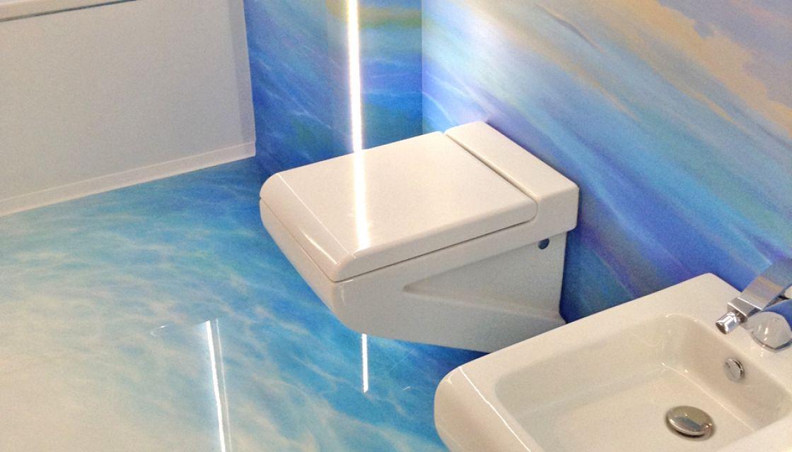 Co W łazience Zamiast Płytek żywice Dekoracyjne Wrsystem