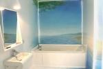 Nowoczesne aranżacje łazienek - żywica