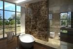 Łazienki hotelowe - kamień