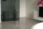 Nowoczesne aranżacje łazienek - tapeta