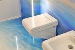 Aranżacja łazienki - żywica